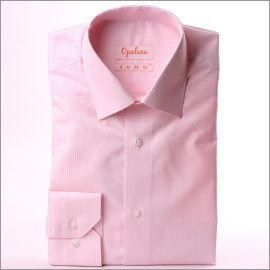 Chemise à carreaux Vichy roses et blancs