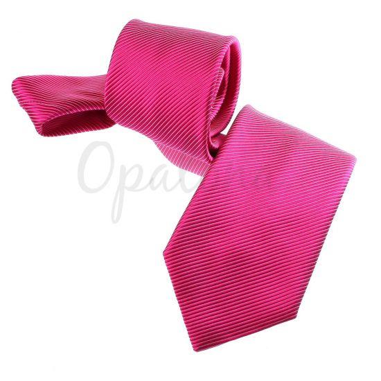 Cravate framboise