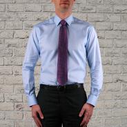 Col classique cravate