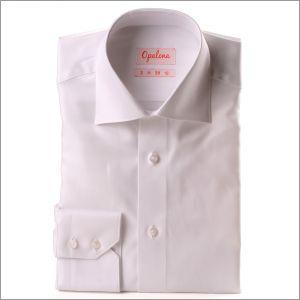 Chemise blanche tissu twill