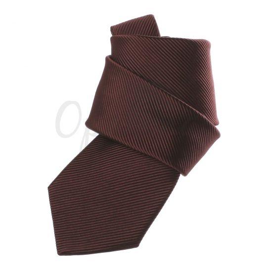Cravate marron chocolat