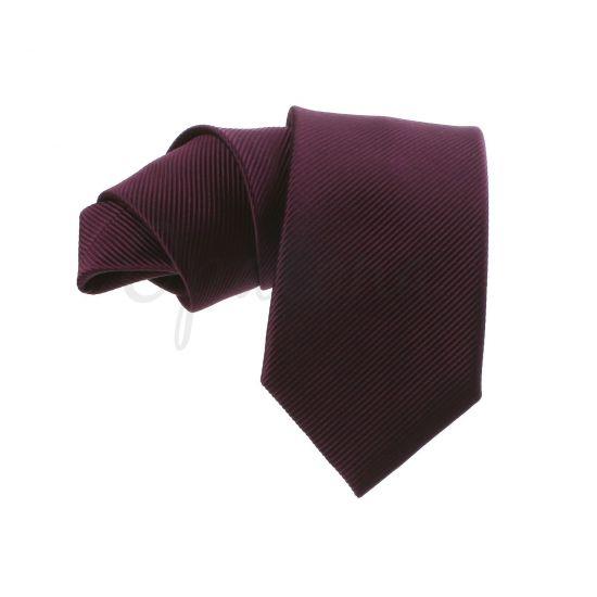 Cravate prune
